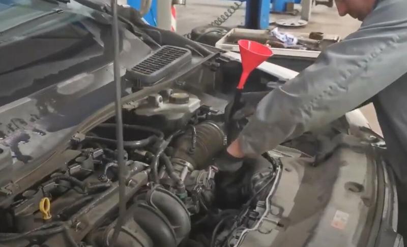 """Замена масла в """"автомате"""", на этот раз Ford Kuga"""