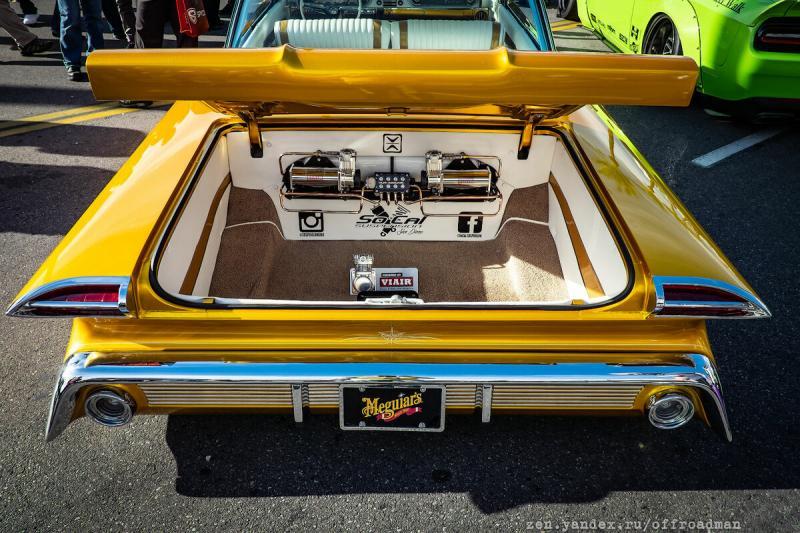 Что находится в багажнике автомобиля на пневмоподвеске
