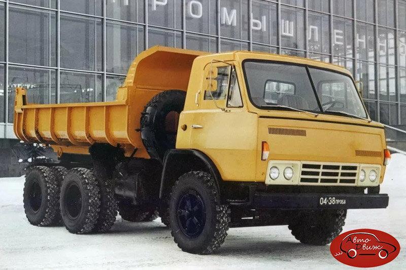 КамАЗы, сделанные в Москве