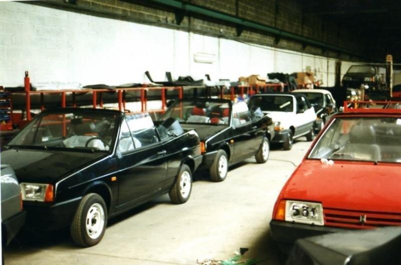 Клоны автомобилей LADA в Бельгии. Часть 7