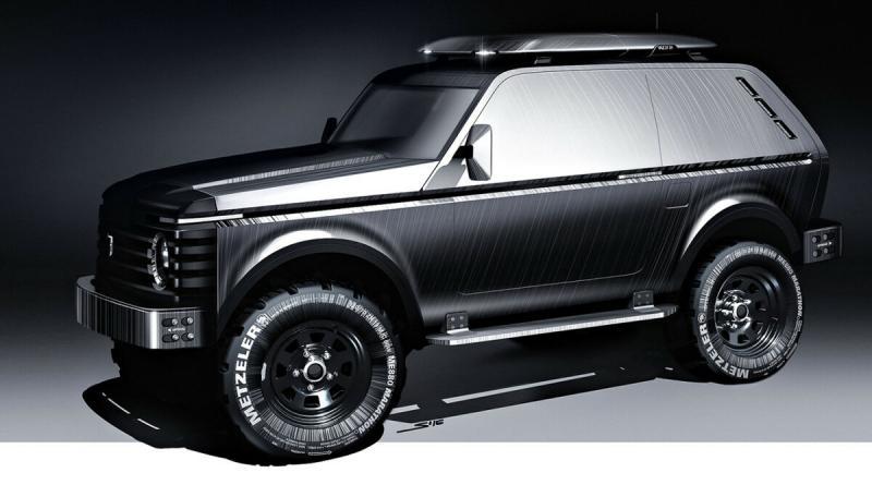 Lada 4×4 «Ворон» — проект действительно нового поколения Нивы.