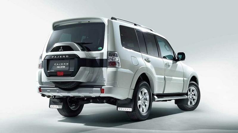 Mitsubishi Pajero Final Edition. Обзор характеристики внедорожника.