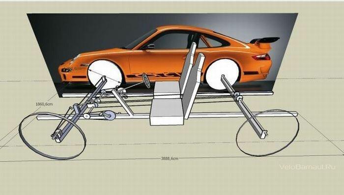 Нет денег на Porsche - построй сам!