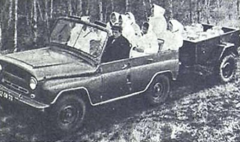 """УАЗ 469 """"Бобик"""" командирский. Архивные фотографии 1972 года."""