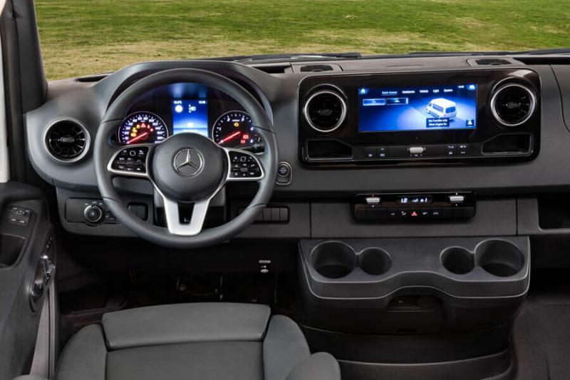 Американский автодом на базе Mercedes Sprinter 2021