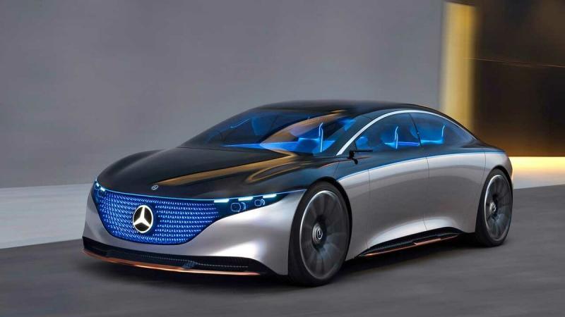 Электрический Mercedes-Benz S-Class порадует дальностью хода