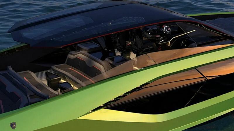 Lamborghini выпустила яхту-спорткар с гоночным двигателем