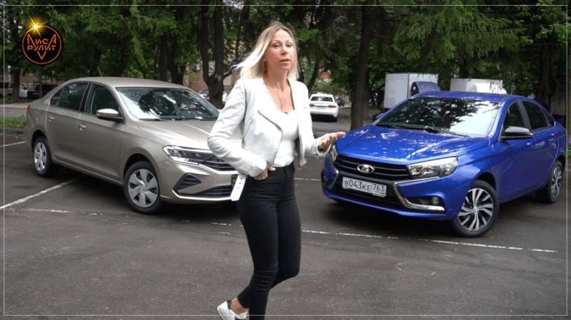 Новый Volkswagen Polo в базе vs Лада Веста ТОП