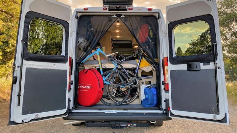 Самые доступные автодома в фургонах заводского производства