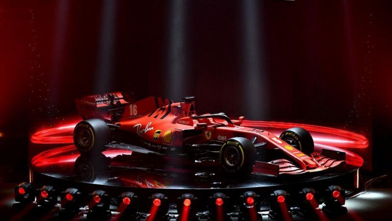 Закрытая дорога в Ferrari