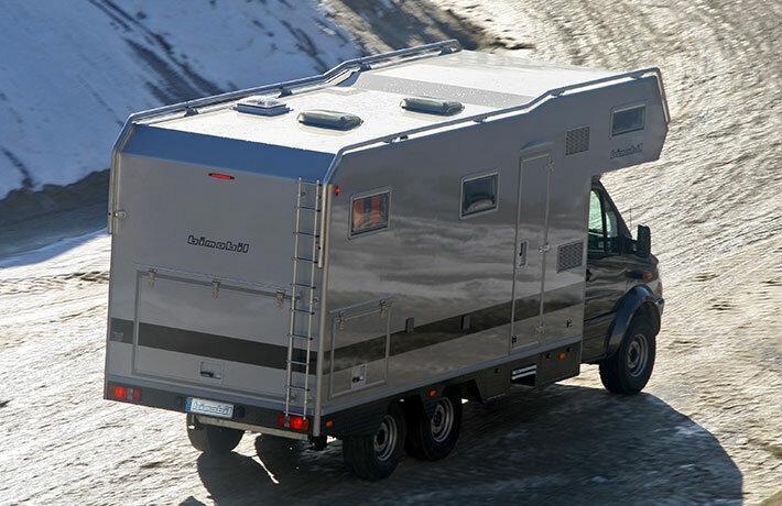 5 дорогих автодомов на Авито. Mercedes Sprinter Bimobil 6x6.