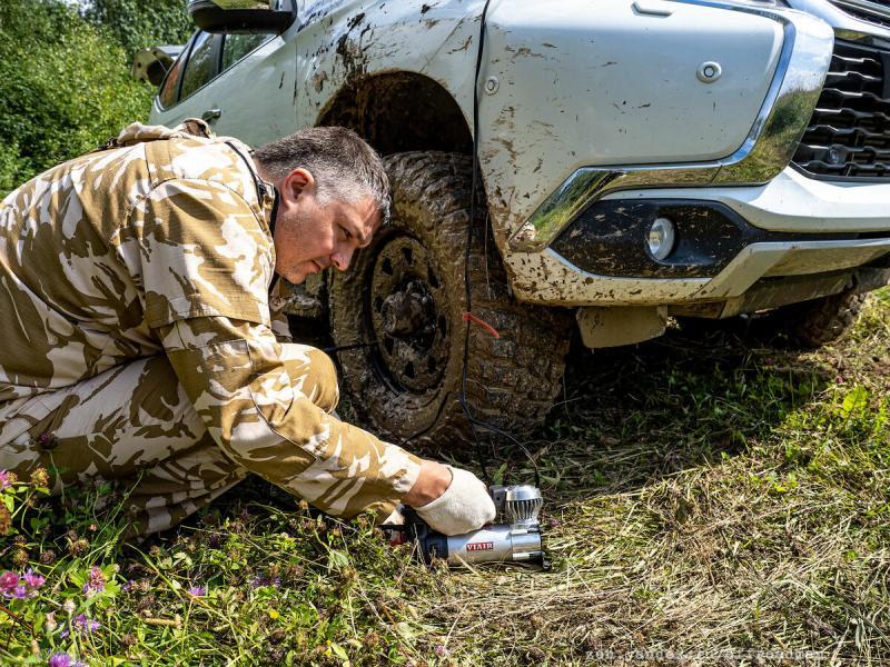 Как мы на Pajero Sport спасали застрявших грибников в день ВДВ