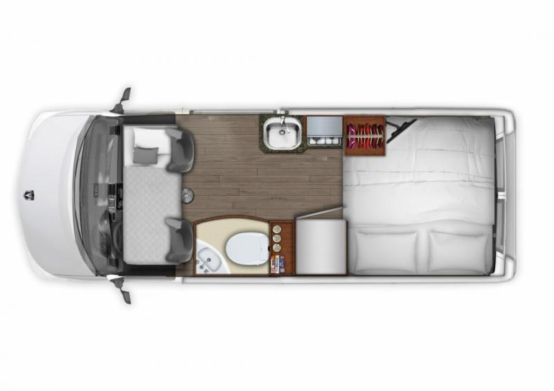 Компактный автодом Roadtrek Zion SRT (Канада)