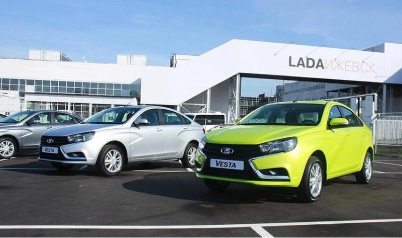 Почему Lada Vesta всегда вторая?