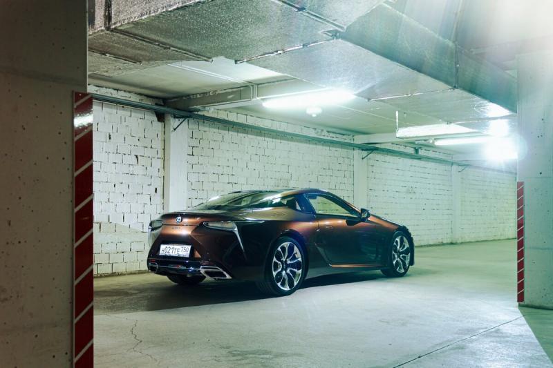 Последний из могикан. Lexus LC500