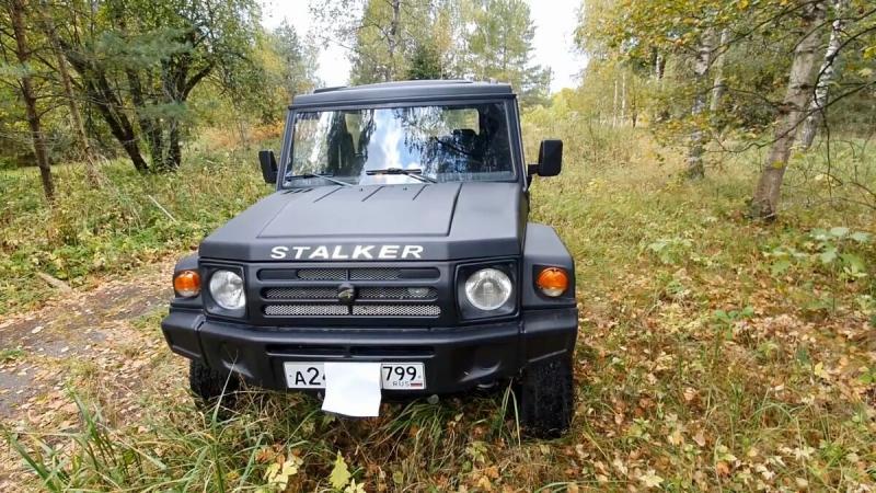 Рассмотрел LADA STALKER, рассказываю об автомобиле! АПАЛ-21541