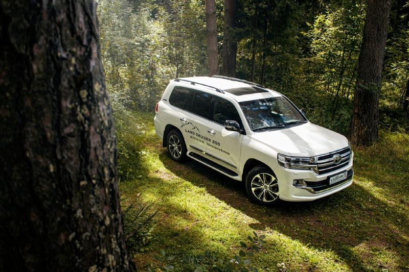 Toyota Land Criuser - мечта дачника
