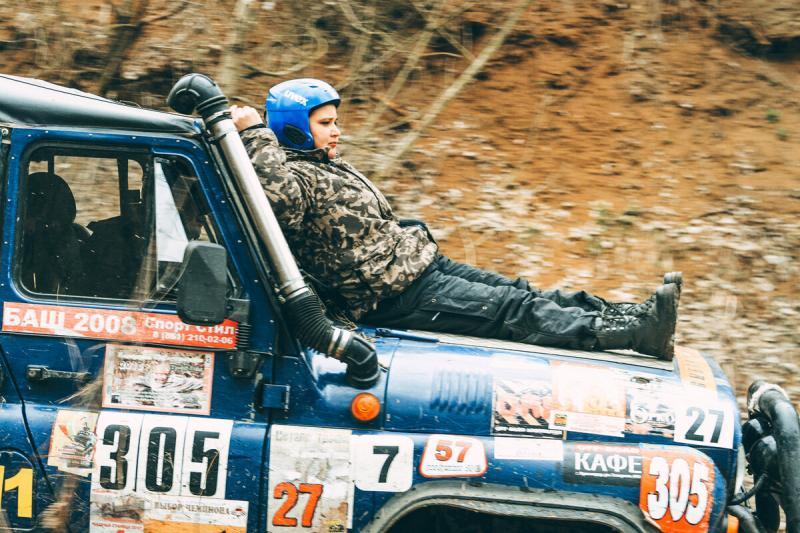 Фоторепортаж с гонки джиперов. В этот раз Нивы рвали всех