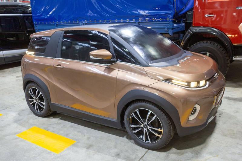 КАМА — легковой электромобиль от «КАМАЗа»