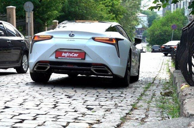 Lexus LC 500h: спорткар на каждый день