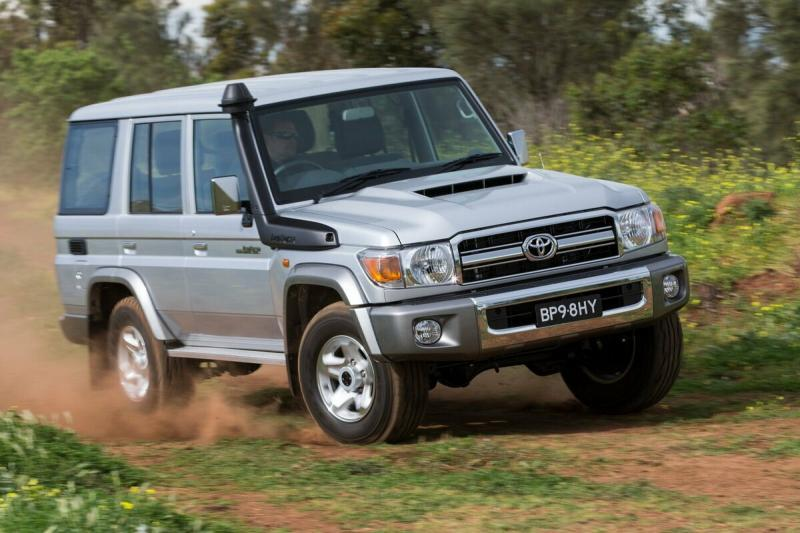 Обновленный внедорожник Toyota Land Cruiser 70