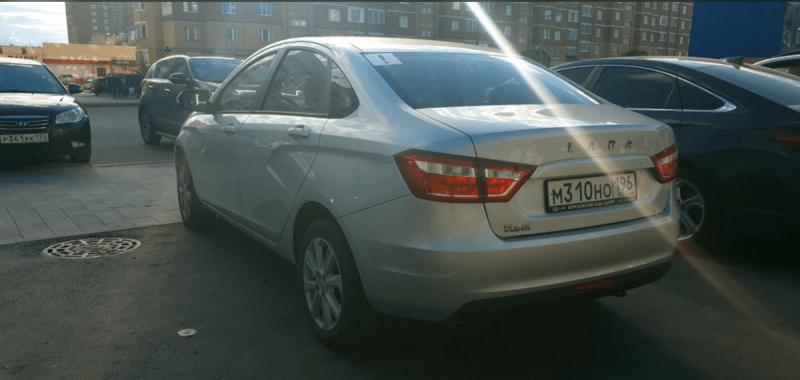 Отзыв владельца про Lada Vesta 2019-го года