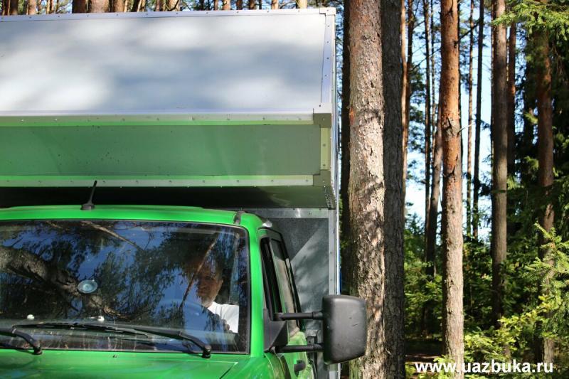 Плюсы и минусы автодома УАЗ Профи