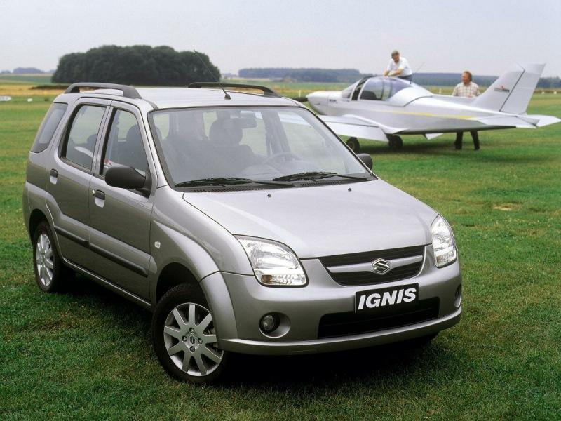Ignis – японская «Нива» с 4x4, цепным ДВС, расходом в 6 л и дизелем. Стоит менее 290 тысяч
