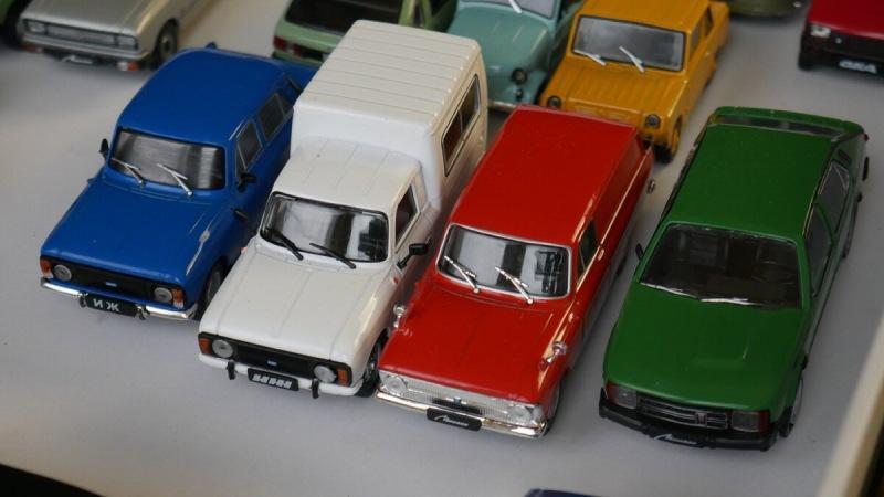 Показываю свою коллекцию советских автомобилей. Часть 1