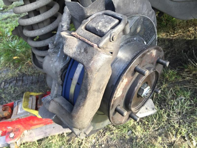 Вырвало с места тормозной суппорт у Нивы Шевроле часть 2