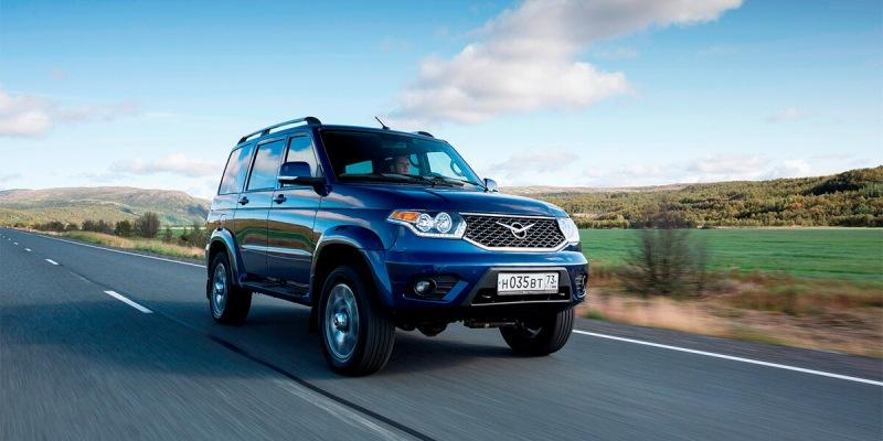 Новый УАЗ Патриот будет с двигателем от Ford