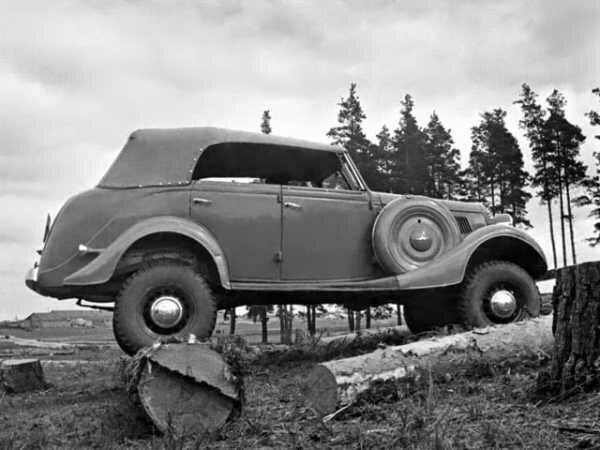 «1 в СССР и 3 в мире»: полноприводный внедорожник автозавода ГАЗ