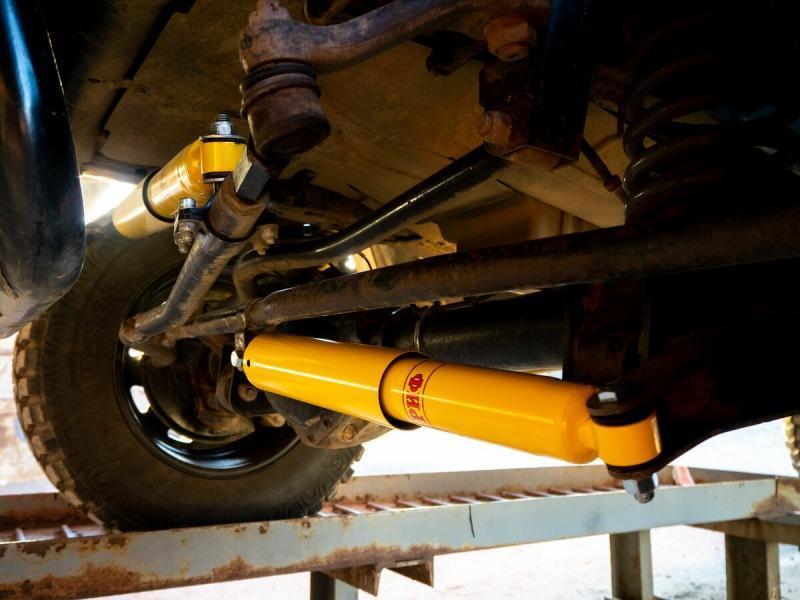 Что будет с УАЗом, если на него поставить два рулевых демпфера