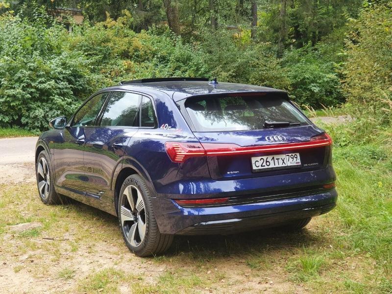 Это вам не Тесла. Электромобиль от Audi