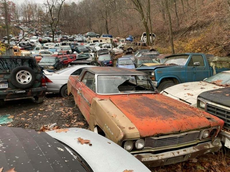 Какие машины можно найти на американской авторазборке