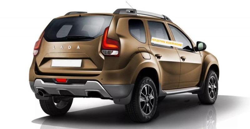 Новая Lada 4×4, будет первым поколением Рено Дастер!