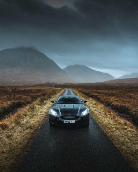 10 необычных lifestyle-фото автомобилей от Британского фотографа