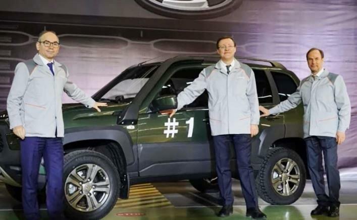 АвтоВАЗ представил новую Ладу Ниву TRAVEL и начал ее выпуск