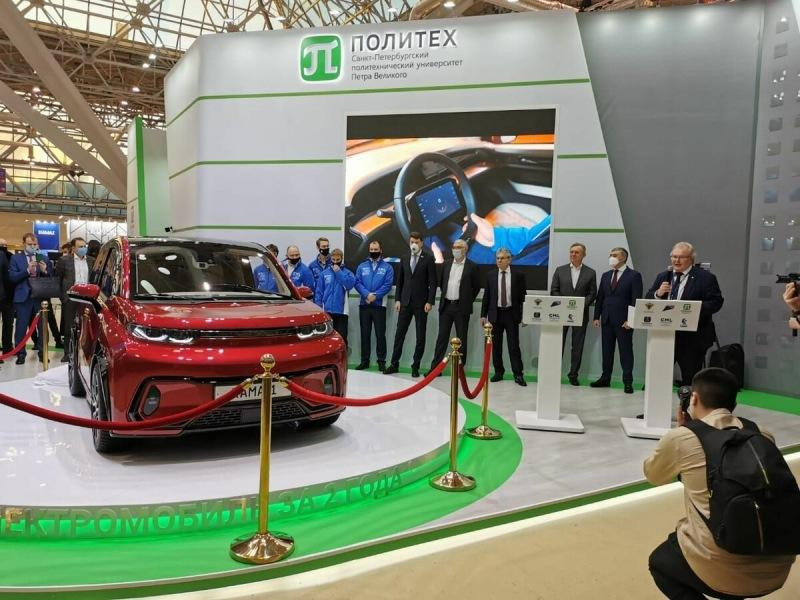 Илон Маск напрягся: КамАЗ представил бюджетный электрокар «Кама-1»