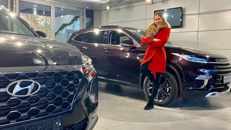 КРОССОВЕР за 2,5 млн рублей. Hyundai Santa Fe против CHERYEXEED