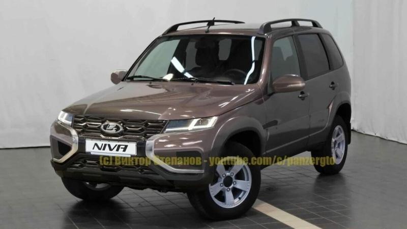 Lada Niva FL - в сеть попали новые изображения внедорожника АвтоВАЗ