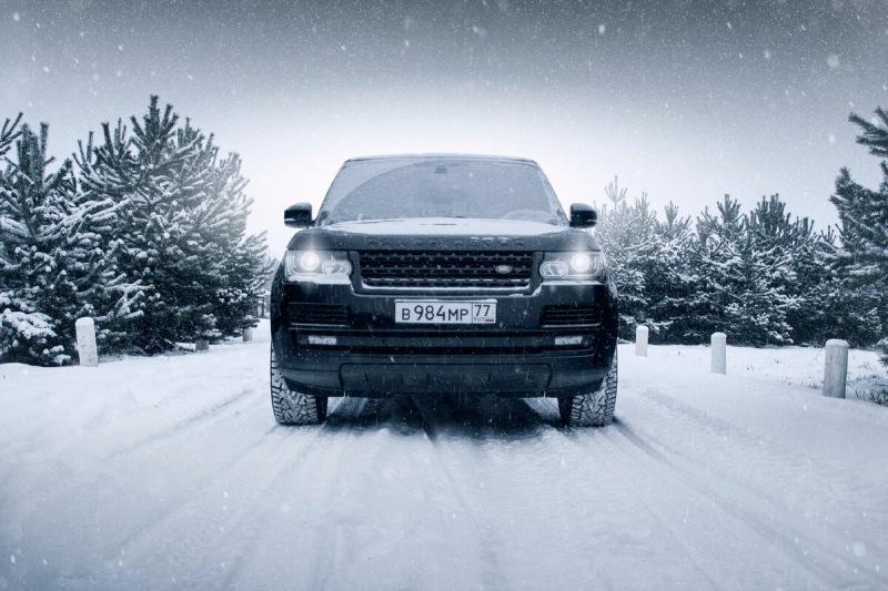 Лучшие зимние фотосессии с автомобилями
