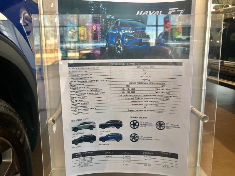 Посетил автосалон с китайскими авто HAVAL, смотрим цены на них!