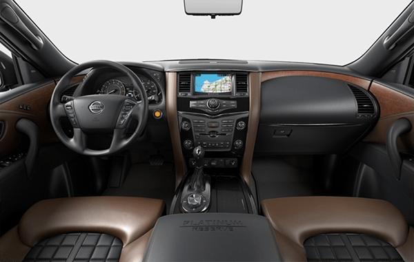 Внедорожник Nissan Armada получил обновление