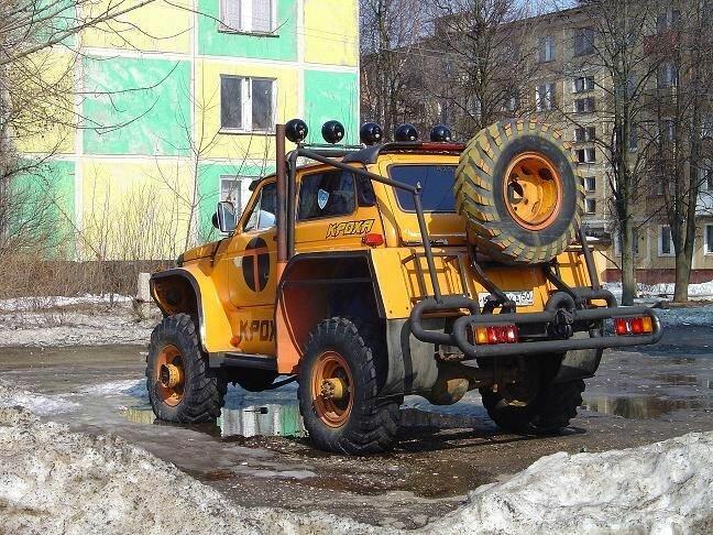 36 фото интересного и необычного тюнинга Луазов, УАЗов и Нив.