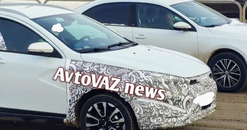 Шпионам удалось заснять новую Lada Vesta на дорожных испытаниях