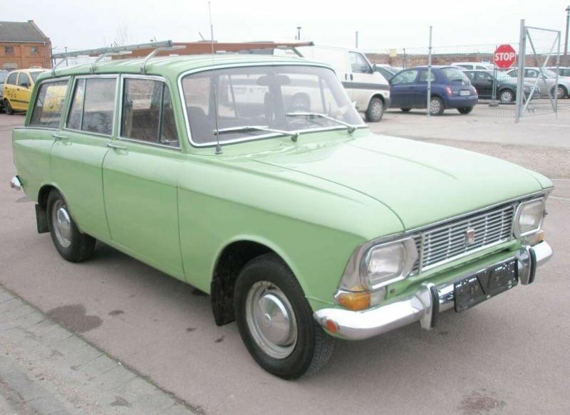 Без пробега по СССР. В Европе продают редкий Москвич 427