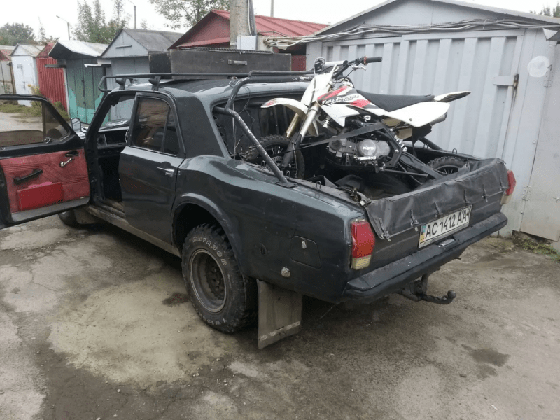 ГАЗ-24 «Кобра» — доработанный пикап-внедорожник «Волга»