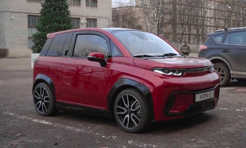 КамАЗ показал на видеоролике электромобиль КАМА-1