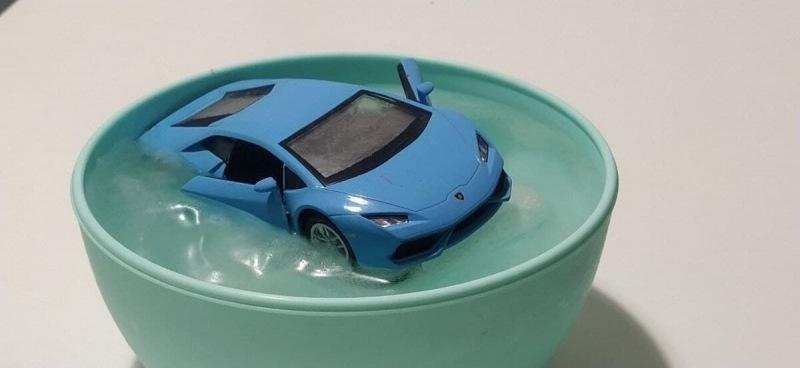 Lamborghini Huracan в заморозке